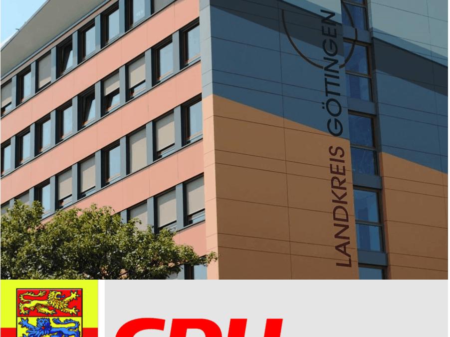 PM CDU verurteilt Anschlag auf die Ausländerbehörde der Stadt Göttingen und fordert besseren Schutz für Mitarbeiter/-innen und Gebäude des Landkreises