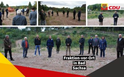 Fraktion-vor-Ort in Bad Sachsa am 05.10.2020