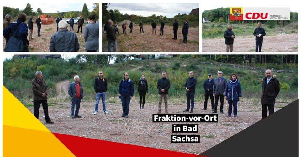 Fraktion-vor-Ort in Bad Sachsa am 05.10.2020