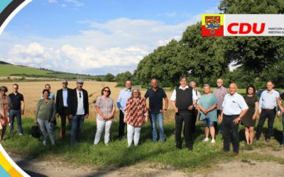 PM Breitbandausbau & Handyempfang vorantreiben – Hochwasserschutzkonzept umsetzen – Behelfsausfahrt A38 dauerhaft beibehalten – Fraktion vor Ort in Friedland